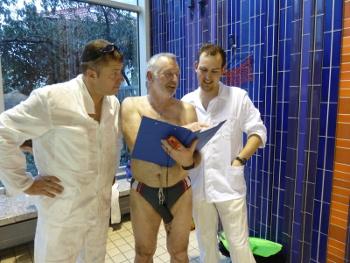 Vorbesprechung zum Kleiderschwimmen