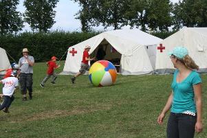 Spiel und Spaß im Zeltlager